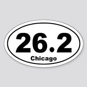 26.2 Chicago Marathon Sticker